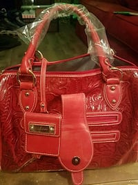 Red leather purse Monterey, 93940