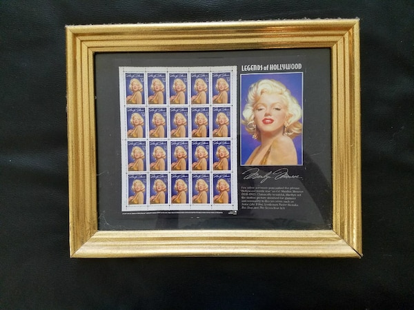 Marilyn Monroe collectable stamps