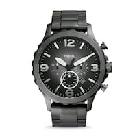 Fossil Nate Chronograph Stainless Steel Men's Watc