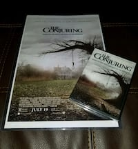 The Conjuring New DVD & Poster  Bunker Hill, 25413