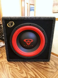 Car 12 inch subwoofer and amp