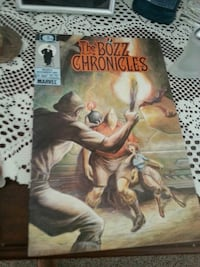 The Bozz Chronicles comic book Killeen, 76541