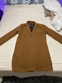 MENS BROWN TRENCH COAT
