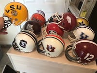 11 SEC Mini Helmets or $5 for your team!!   Gainesville, 20155