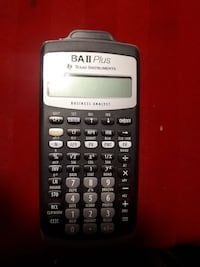 black and gray Texas Instruments TI-84 Plus Vaughan, L4J 0G6