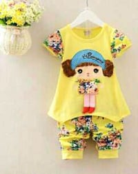 yellow and blue floral crew neck shirt Avadi, 600054
