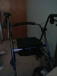 blue and black rollator Columbus, 43227