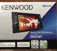 Kenwood 2-din car stereo head unit Beltsville