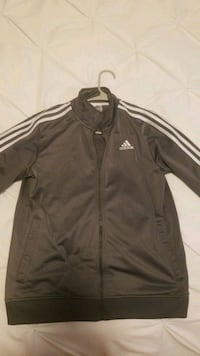Adidas Jacket Dark grey. Size large in Boys Philadelphia, 19130