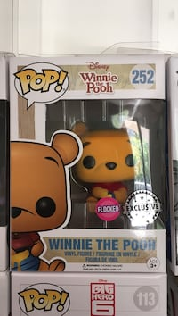 Funko pop! Winnie the Pooh Exclusive flocked  Magny-le-Hongre, 77700