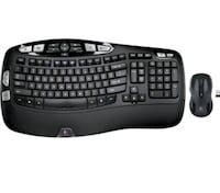 Logitech wireless keyboard mk550 Mississauga, L5T 1C7