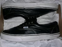 VANS Off The Wall Leather old school skateboard Sneakers Shoes sz 10.5 Toronto, M1W 3X8