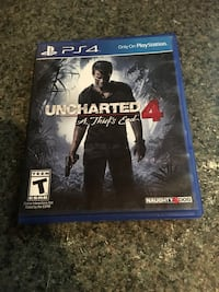 Uncharted 4 PS4 game case Willis, 77378