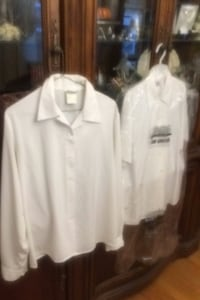 3 Women's Blouses (work or Church) Medium
