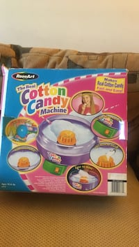 The Real Cotton Candy machine box