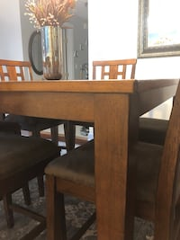 Height dinning table with 6 chairs  Fairfax, 22033