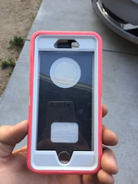 White and pink iphone case Colorado Springs, 80915