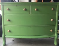 green wooden 4-drawer dresser O'Fallon, 63368
