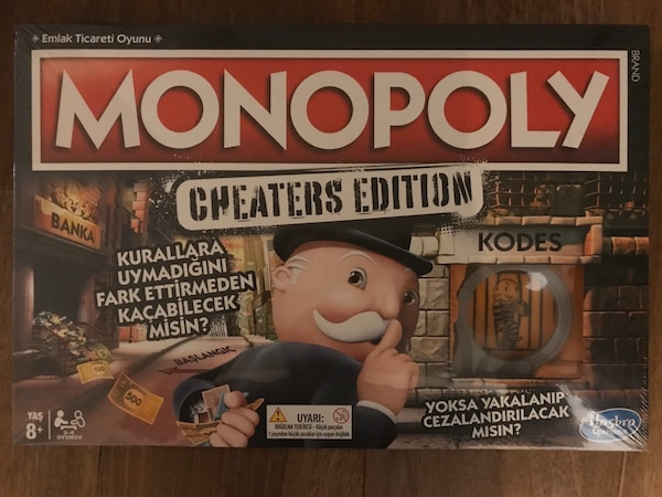 Monopoly Cheaters Edition 0