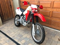 2001 Honda XR650R CA Plated Encinitas, 92024