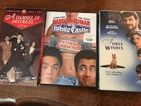 Movies Galore - A Damsel in Distress VHS, Go to White Castle Extreme Unrated DVD, & Three Wishes VHS Nottingham, 21236