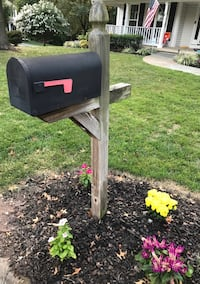 Mailbox and Post
