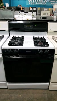 Ge natural gas Stove 30inches