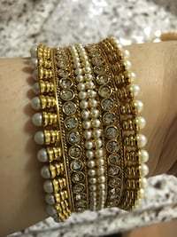 Gold plated jewelry bangle # 1 40$ only one piece 2.6 size 2# pieces each 30$ two 55$2.6 Markham, L3S 3Y9