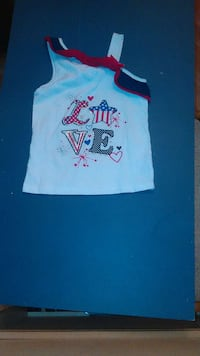 white, red and black love tank top 1597 mi