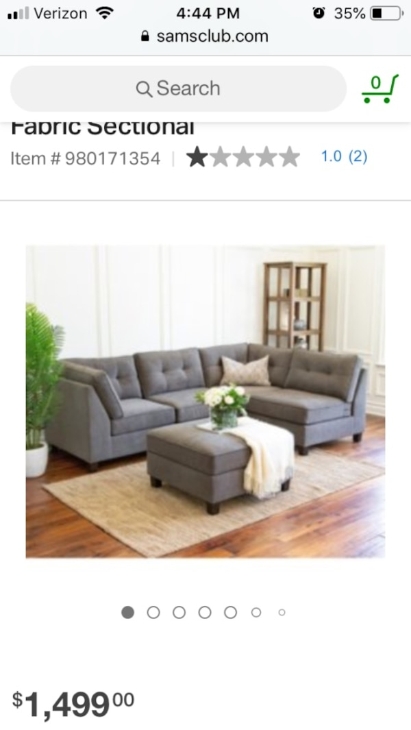 Thompson 5 Piece Sectional Sofa Couch