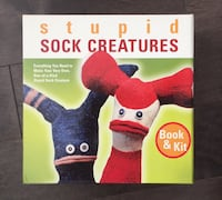 Sock Creatures Craft Kit Barrie, L4M 8J7