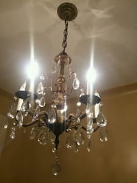 Antique  chandelier with crystal  Brooklyn, 11385