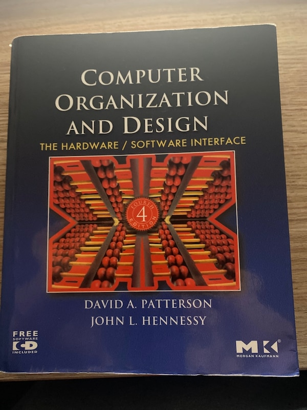 Computer Organization and Design: The Hardware/Software Interface 6ddcf360-413c-4a36-9bdc-1a2acef4321c