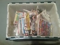bin full of comics lot of old ones some new  Troy, 38260