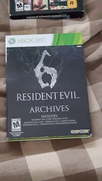 Resident Evil Archives Xbox 360 Works With Xbox 1 Canandaigua, 14424