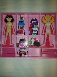 Kids magnetic Barbie  St. Catharines, L2S 1X1