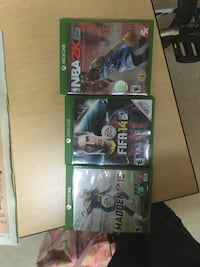XBOX ONE CHEAP SPORT GAME PACKAGE Miami, 33199