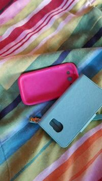 Pink and mint blue phone cases Houston, 77075