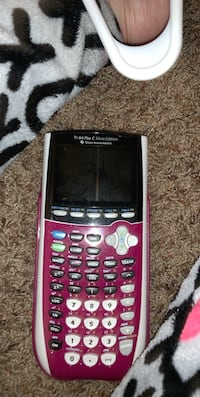 red and black Texas Instruments TI-84 Plus Lubbock, 79424