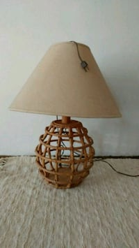 Vintage bamboo lamp. Norman