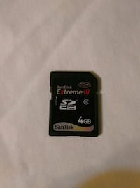 San Disk Extreme III 4GB memory Chicago, 60645