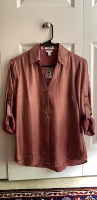 NWT Ladies  Express  buttowndown dress shirt, suze small Franklin, 37064