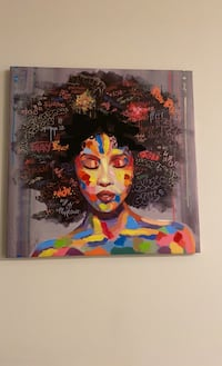 Two canvas Paintings. Silver Spring, 20902