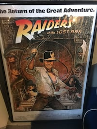 Indiana Jones movie posters Guelph, N1H 3M7