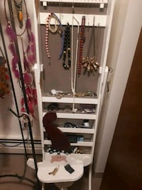 Jewelry Cabinet .door with mirror can be fixed Calgary, T3E 3W3