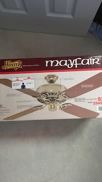 brown Mayfair 4-blade ceiling fan box
