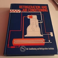 Refrigeration and Air Conditioning Hardcover Book Baltimore, 21225