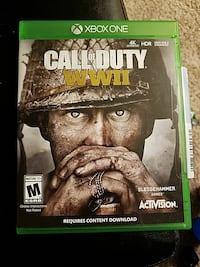 Xbox One Call of Duty game case