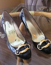 AUTHENTIC GUESS BY MARCIANO HEELS - SIZE 8.5/9 WELLAND