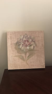Floral canvas wall decor Woonsocket, 02895